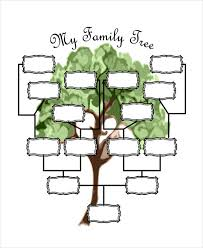 Sample Of Family Tree Chart 19 Family Tree Templates Free Premium Templates