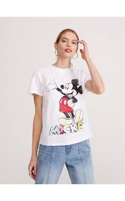 Футболка <b>Mickey</b> Mouse, RESERVED, ZK414-00X
