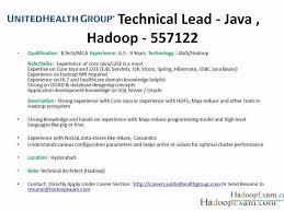 hadoop architect resume 11 solution architecture resume job