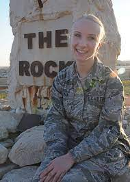 A Rock Solid Warrior: Airman 1st Class Heather Hickman > U.S. Air Forces  Central > Display