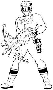 Power Rangers Coloring Pages Mais