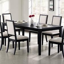 black wood dining room sets. Black Wood Dining Room Set Delectable Inspiration Modest Design Table Surprising Sets T