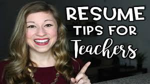 Resume Tips For Teachers That Teacher Life Ep 29 Youtube