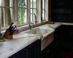 marble kitchen calacatta gold