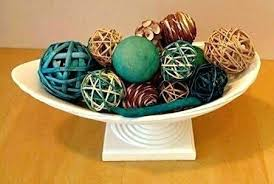 Decorative Balls For Bowl Blue Delectable Bowls Decorative Bowl With Balls For Bowls Green Blue Ball