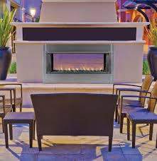 superior 43 outdoor linear vent free fireplace linear vent free outdoor fireplace vre4543e