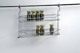 Hanging Spice Rack Wood With Jars Wall Mounted Amazon Designs 5