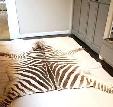 fake animal skin rugs with head faux zebra rug animal skin rugs with head fake cowhide