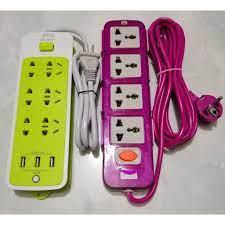 SẬP GIÁ] Ổ cắm điện đa năng. Ổ cắm điện thông minh kèm cổng sạc USB (6 phích  cắm, 3 USB) !! - Giá Sốc 24h