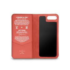 louis vuitton phone case iphone 7 plus. iphone 7 plus folio in women\u0027s masters lv x koons collections by louis vuitton phone case iphone plus