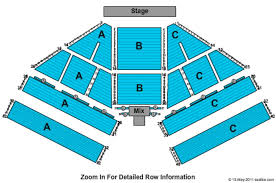 Pechanga Casino Concert Seating Chart Pechanga Resort Casino Showroom Tickets In Temecula