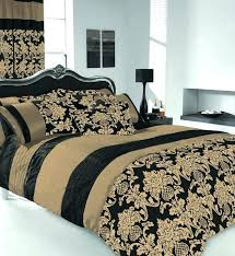 super king size bedding gold and black king size bedding king size duvet cover bedding set
