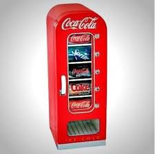 Coke Vending Machine Refund Stunning New Koolatron Retro Coca Cola Soda Vending Machine 48 Can Capacity