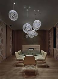 modern glass chandelier lighting. decorationscool ball glass contemporary chandelier design with oval modern dining table and lighting d