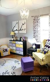 purple and grey nursery baby girls nursery room purple grey and yellow birds gray aqua purple