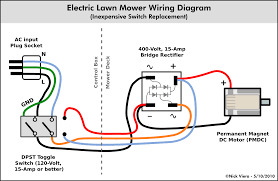 basic mower wiring diagrams basic wiring diagrams online