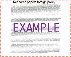 research papers foreign policy essay academic service research papers foreign policy