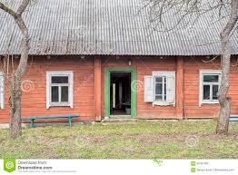 Verlassenes Holzhaus Stockbild Bild Von Scharnier Muster 87581363