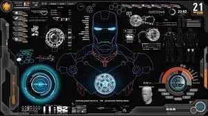 Iron Man Jarvis Desktop Wallpapers on ...