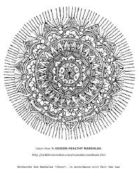 Free Printable Mandala Coloring Pages Find