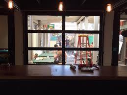 glass garage door restaurant. Modern / Contemporary Garage Door Design And Installation - Madden SF Bay Area, Concord, Walnut Creek, Burlingame, Alameda, Berkeley Glass Restaurant B