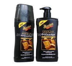 meguiar s gold class rich leather cleaner conditioner odżywka w postaci mleczka do pielęgnacji skóry dozownik