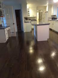 red oak with ebony stain dark hardwood floors a54 floors