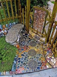 15 Magical Pebble Paths That Flow Like Rivers  Bored PandaMosaic Garden Path