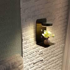 Chủ Nghĩa Thực Dụng Đèn LED Dán Tường Đầu Giường Kệ Sạc Điện Thoại USB  Phòng Ngủ Hiện Đại Đọc Sách Khách Sạn Dán Tường 3 Màu Có Thể Chuyển Đổi|