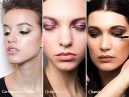 fall winter 2016 2017 makeup beauty trends smokey eye makeup