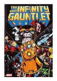 infinity gauntlet. marvel comics infinity gauntlet