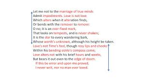 sonnet by william shakespeare analysis sonnet 116 by william shakespeare analysis