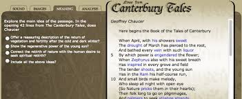 english poetry lines from canterbury tales explore sound  english poetry lines from canterbury tales explore sound images and meaning for