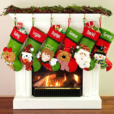 stockings fireplace where to hang if no