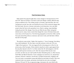 nazi essay gcse history marked by teachers com document image preview