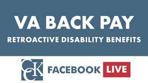 Va Back Pay Or Retroactive Benefits