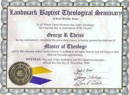 master of theology diploma master of theology diploma for george theiss