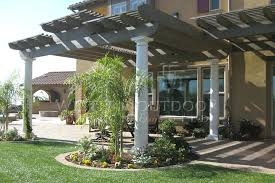 white aluminum attached solid patio cover lattice type patio cover 20 ft x 12 ft white