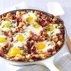 baked corned beef hash and eggs