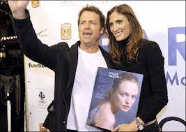 Photographer Nicole Maloney, right, poses with actor...