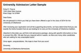 Admission Counselor Cover Letter Simple Application Letter For University Admission Samplecollection Of