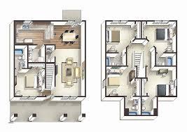 ... 4 Bedroom Loft Floor Plans Fresh 4 Bedroom Luxury Apartment Floor Plans  Inspirational 2 Story Floor ...