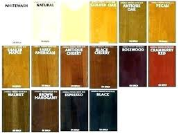 Wood Furniture Stain Color Chart Wood Stain Color Chart Home Depot Dopemedia Com Co