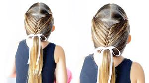 Pigtail French Braid Easy Toddler Hairstyle