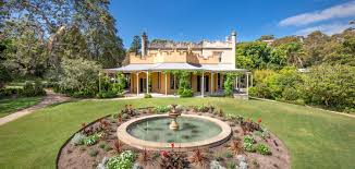 Vaucluse House. Pleasure Garden and Fountain - James Horan