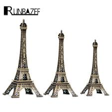Eiffel Tower Home Decor Accessories Impressive RUNBAZEF Paris Style Eiffel Tower Home Decor Decoration Accessories