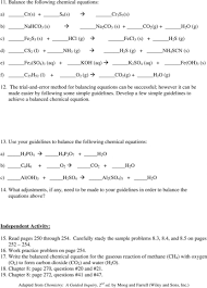 tasty writing chemical equations worksheet answer key p