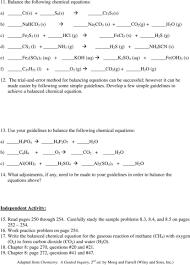 tasty writing chemical equations worksheet answer key p