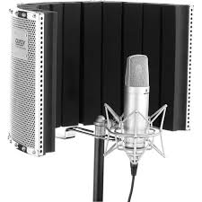 they re basically a half cylinder made of acoustic foam that goes up on your mic stand behind the microphone