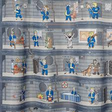 Not Bad A Fallout 4 Perk Chart Shower Curtain Geekologie
